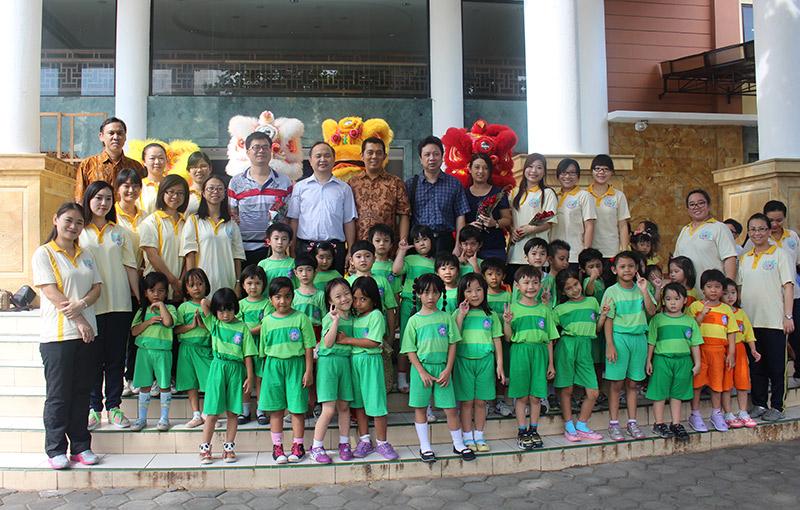 印尼三语学校欢迎广东外派华文教师更易接地气