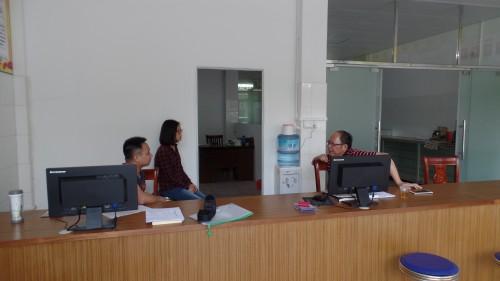 2016年4月25日县食品药品监管局主要负责人调研基层监管所第一季度监管工作落实情况0