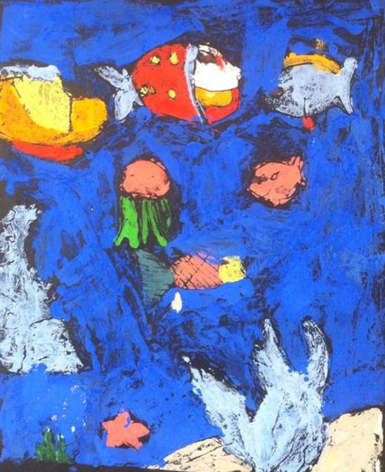 六一儿童节绘画展简讯