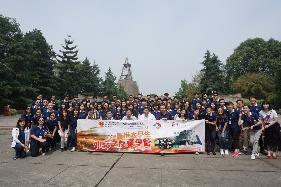 第七届香港大学生外交之友夏令营大学生参观广汉三星堆