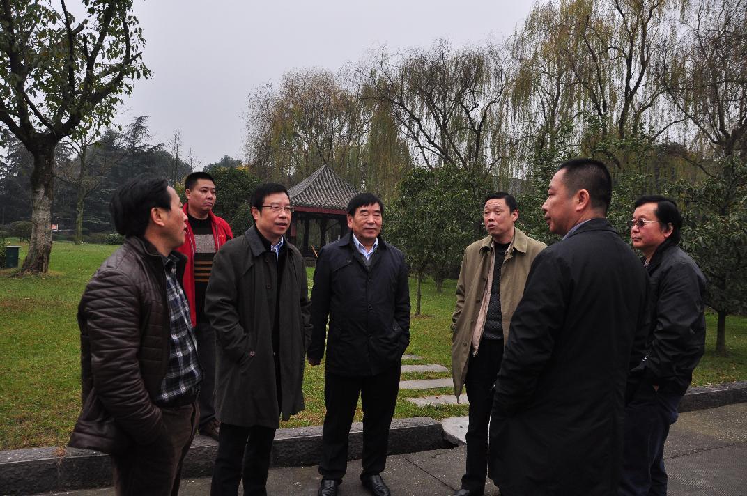 德阳市归国华侨联合会海外侨界杰出青年来德阳参观考察