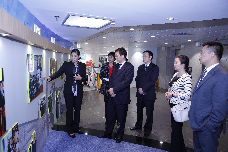 冯发贵常务副市长率德阳市投资促进团访问香港生产力促进局