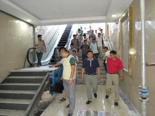 省人防办总工程师张绍川赴安顺指导开展人防工程竣工验收工作