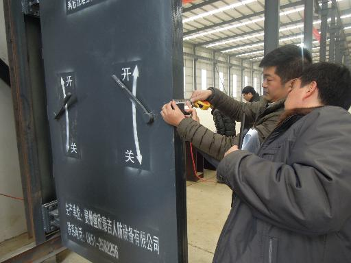 人防防护设备厂现场生产质量抽查