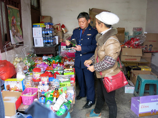 晴隆县五项措施  确保食品安全