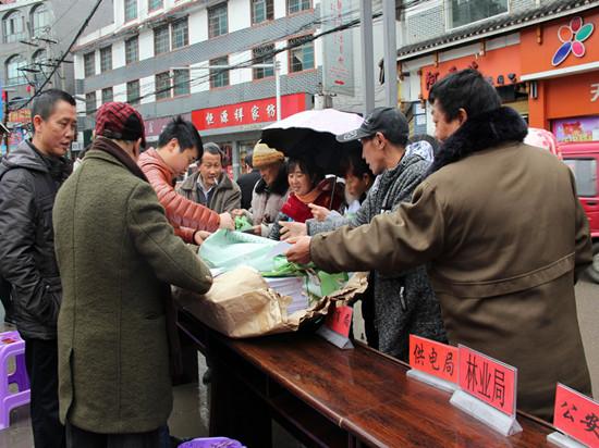 晴隆县开展安全生产法宣传活动