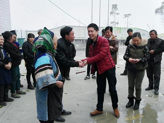 晴隆市监局开展贫困户走访慰问活动