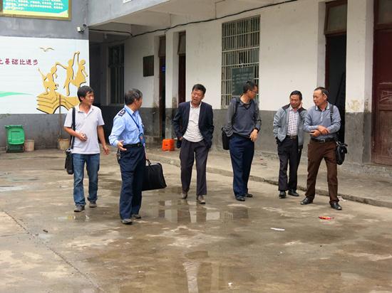 中营(花贡)市监分局开展秋季学校食堂安全监督检查