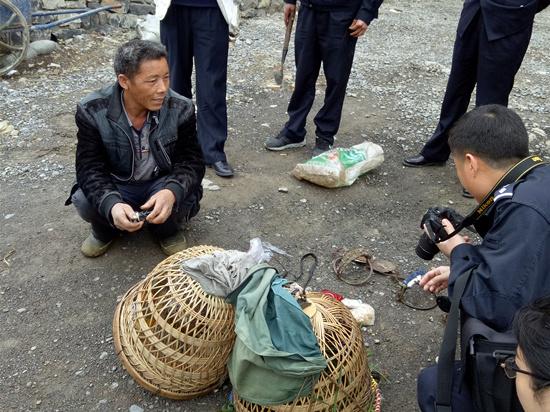 晴隆:五部门联合开展打击违法经营野生动物专项行动