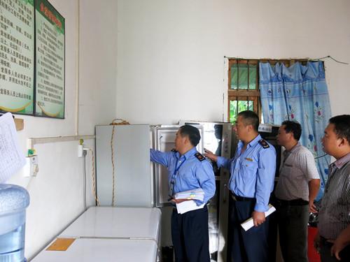 中营分局开展学校食堂食品安全专项检查