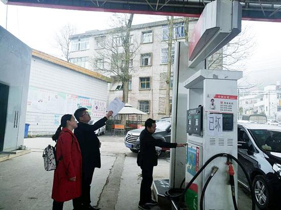 晴隆市监局开展成品油质量升级专项执法检查