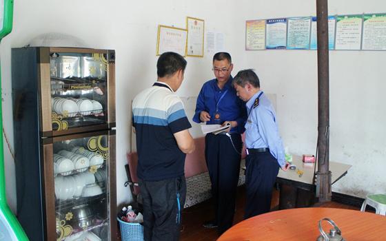 晴隆花贡(中营)市监分局开展预防野生菌类食物中毒工作