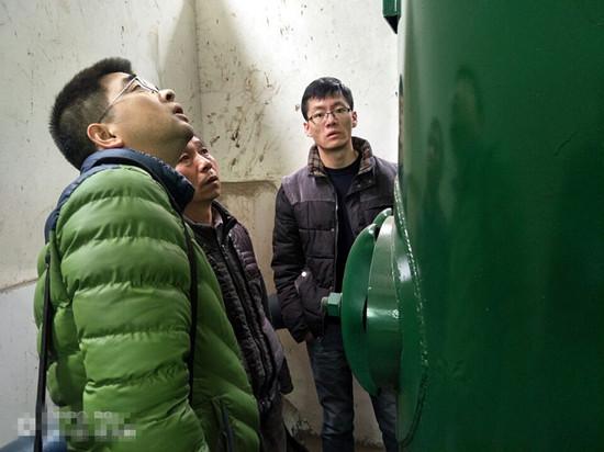 花贡(中营)市监分局开展特种设备安全检查