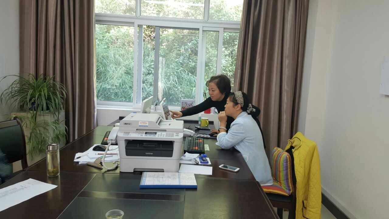 六盘水市住建局城建档案馆 对六枝住建局城建档案室开展上门业务指导