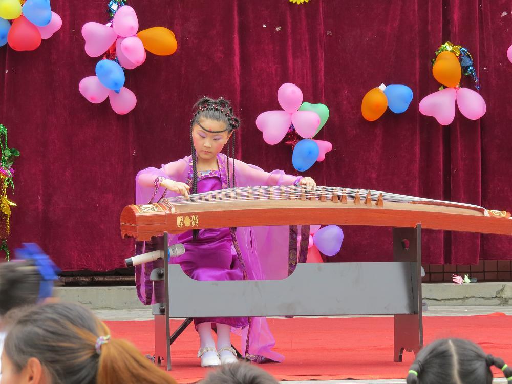 古筝《北京的金山上》——表演者:石育嘉