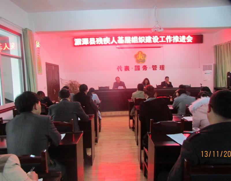 2015残疾人基层组织建设推进会