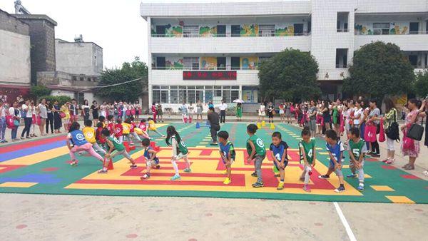我市举办幼儿园体育活动观摩交流会