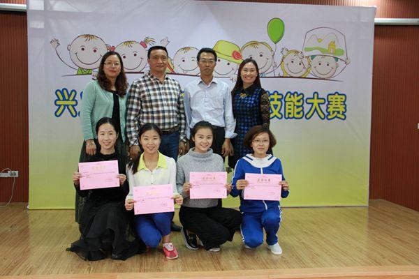 全市幼儿教师基本技能大赛在百春幼儿园举行
