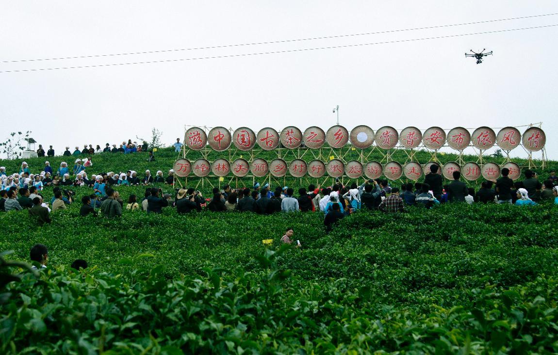 万峰林美丽乡村好歌旅游节暨游中国古茶之乡  赏普安布依风情