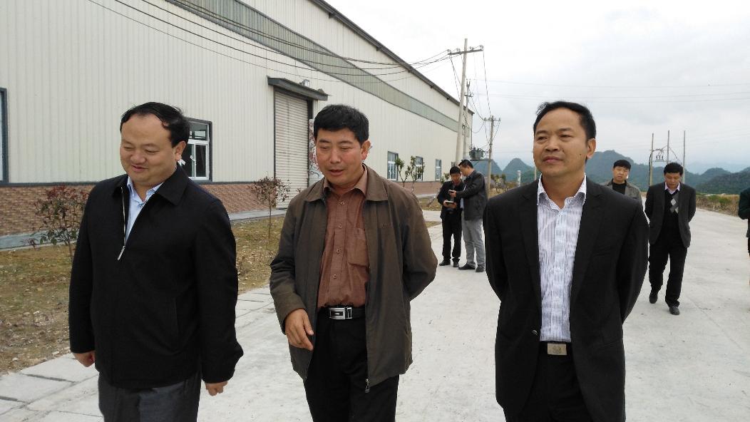 县政协主席葛传彦、县政府副县长黄海鸣到金门陶瓷园区调研
