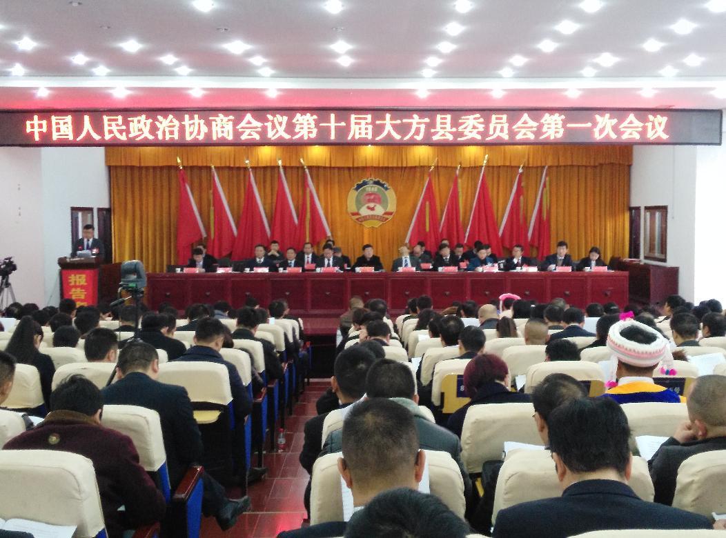政协第十届委员会第一次会议