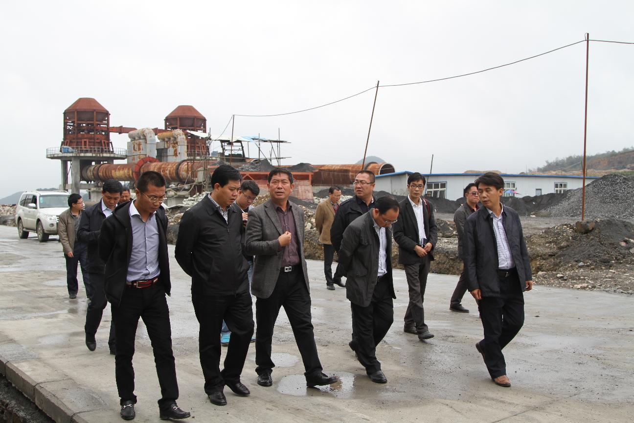 10月29日,县政府县长顾掌权、县政协主席葛传彦视察海美斯