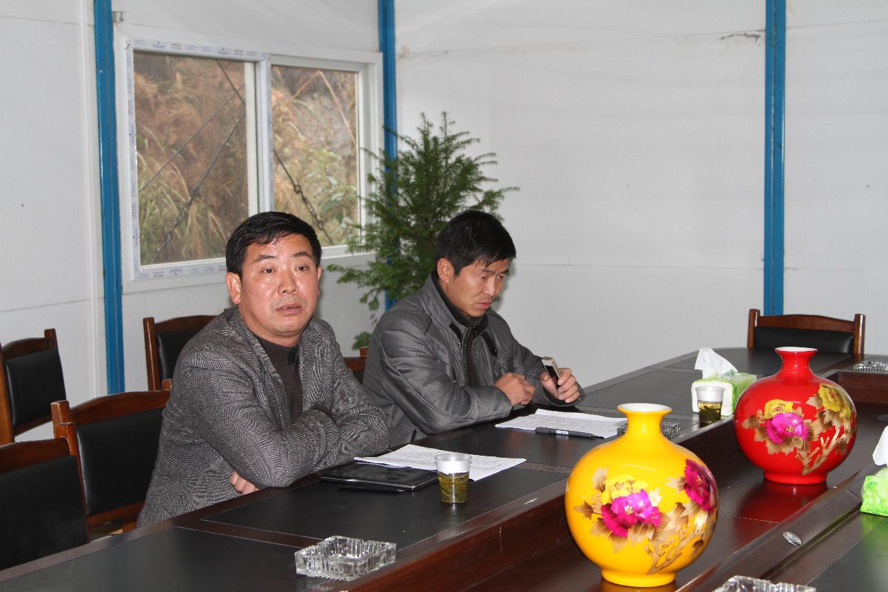 县政协葛传彦主席到金门陶瓷园区召开会议安排部署相关工作