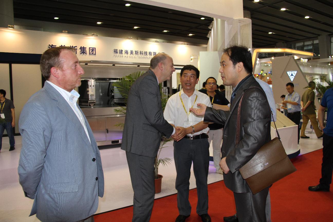 县政协主席葛传彦带队到广州参加2016中国国际陶瓷技术装备及建筑卫生洁具产品展览会