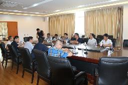 招商组与福建陶瓷协会有关人员洽谈合作项目