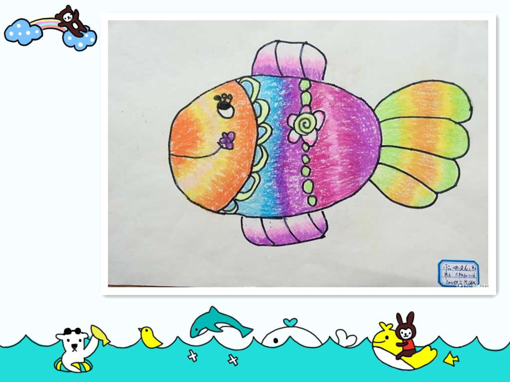 幼儿绘画作品4