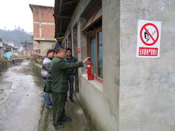 剑河县13个督查组全面铺开对全县农村消防安全督查工作