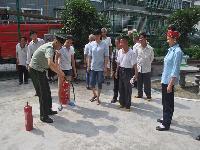 剑河大队联合民政局等部门深入养老院开展消防安全检查