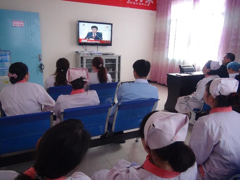 县计妇中心组织收看全省深化改革扩大开放工作会议