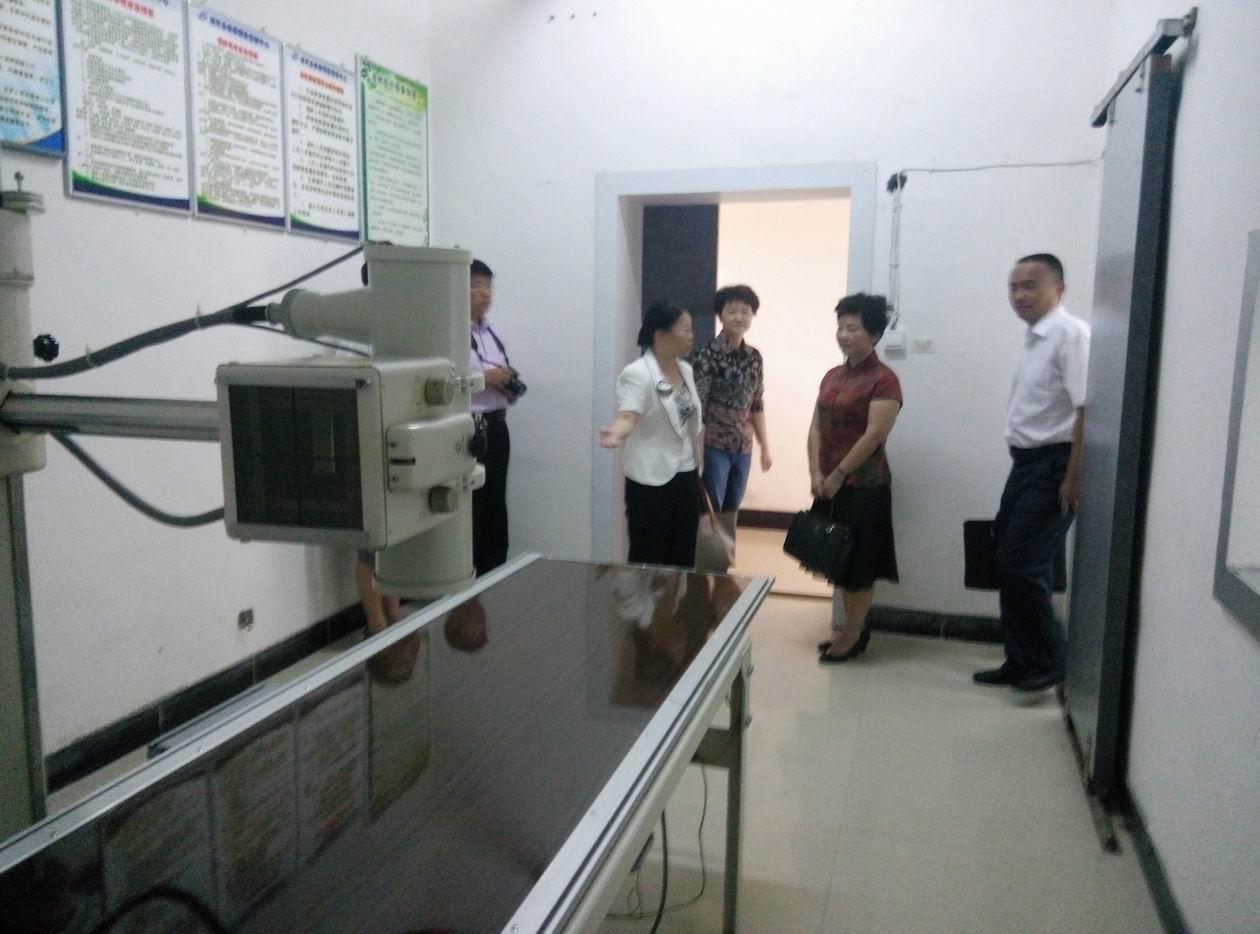 农工党贵州省委调研组到我县调研疾控标准化建设工作