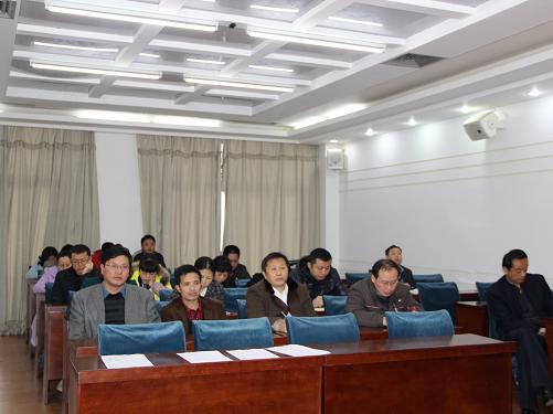 机关工委开展铸廉行动动员会