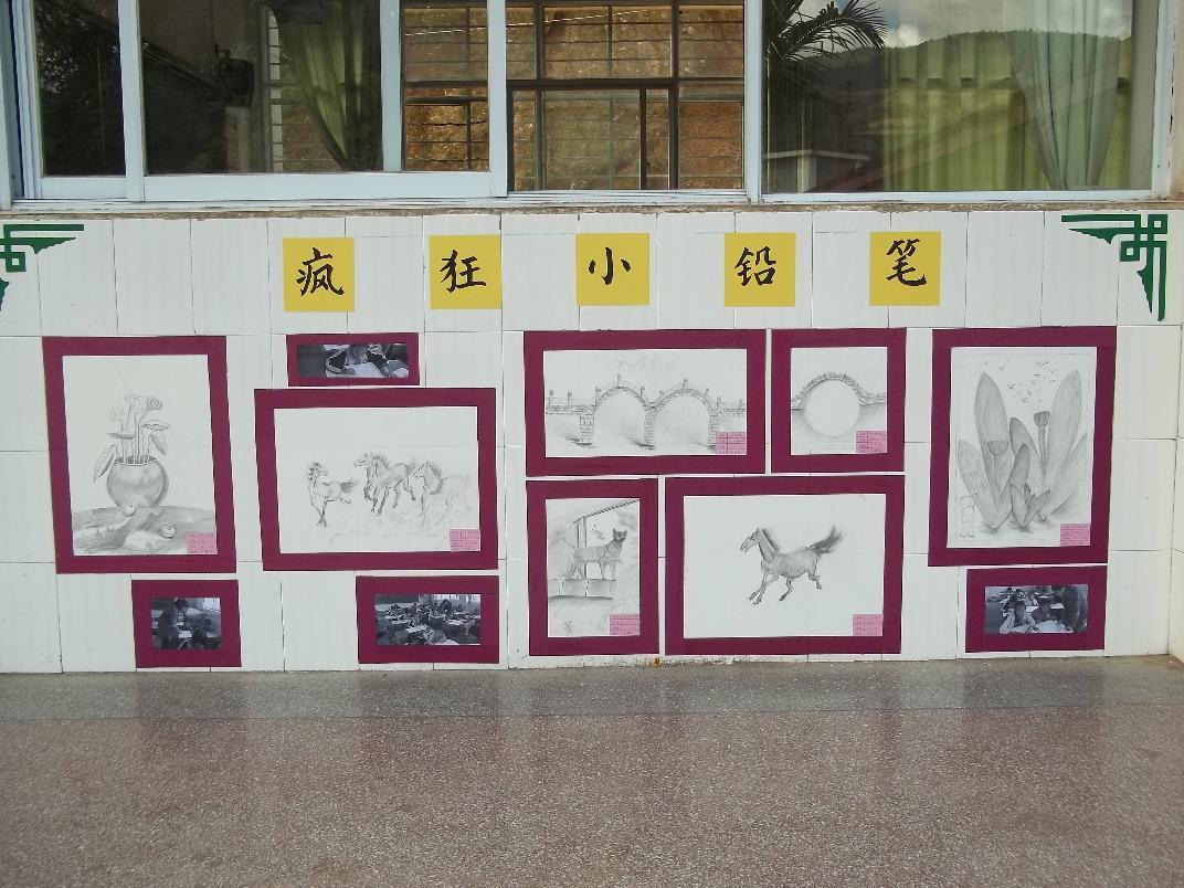 少年宫宣传栏设计图分享展示