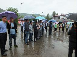 甘泉县政法委组织有关人员赴富县参观学习多元化矛盾纠纷机制建设