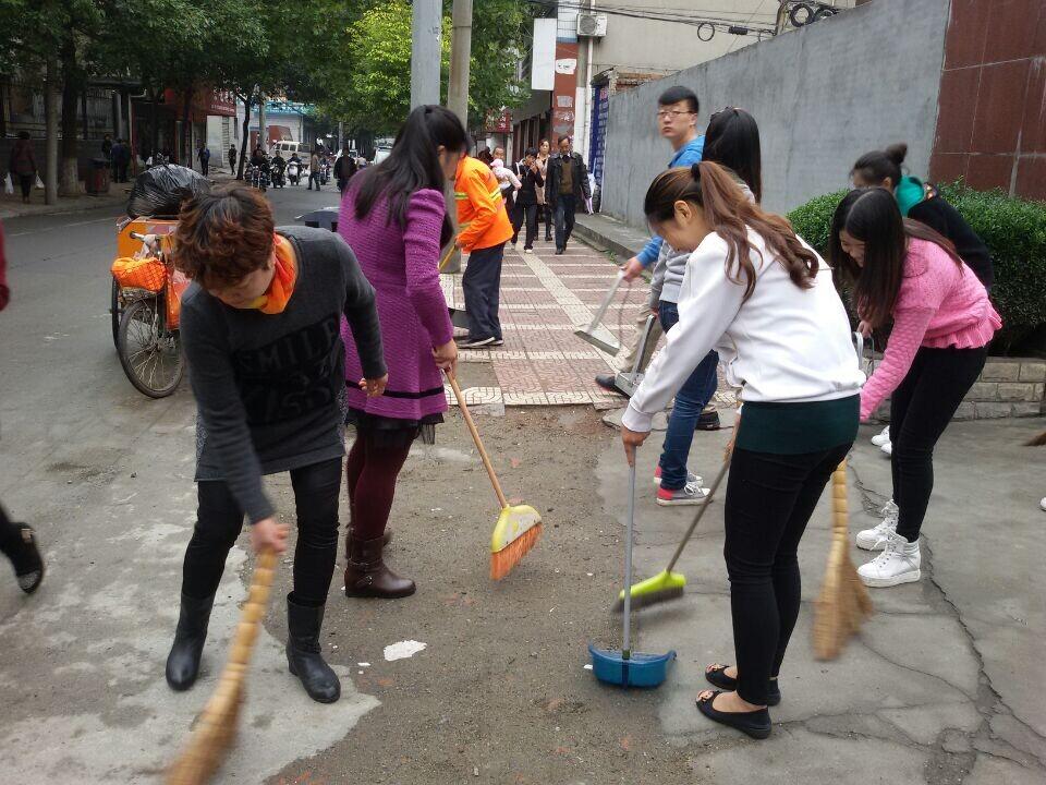 幼儿园环境整治大清扫活动