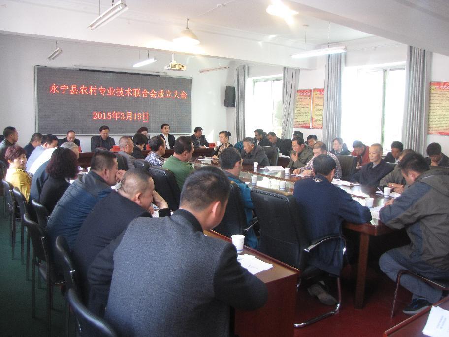 成立农村专业技术联合会